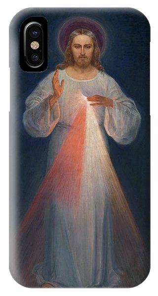 Divine Love iPhone Case - Divine Mercy by Kazimierowski Eugene