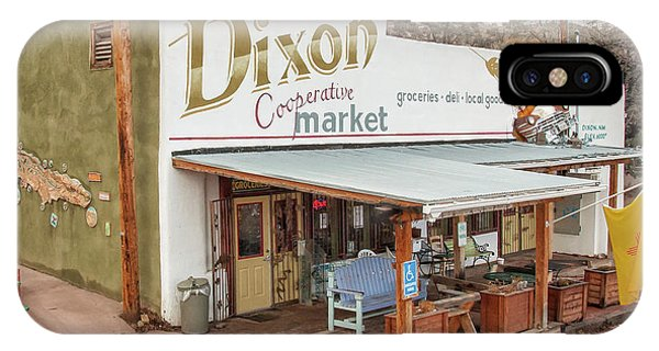IPhone Case featuring the photograph Dixon Market, New Mexico by Britt Runyon