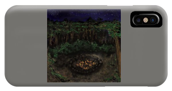 Dancing Naked In The Forest Back Cover IPhone Case