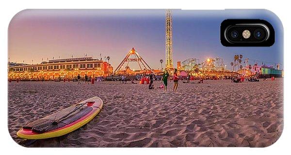 Santa Cruz Surfing iPhone Case - Do We Have To Go Home - Santa Cruz Beach by Scott Campbell