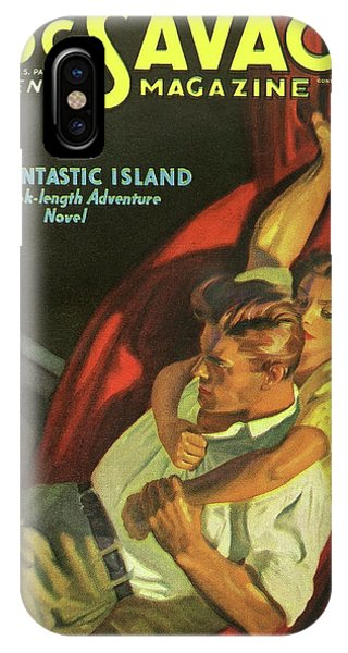 Doc Savage The Fantastic Island IPhone Case