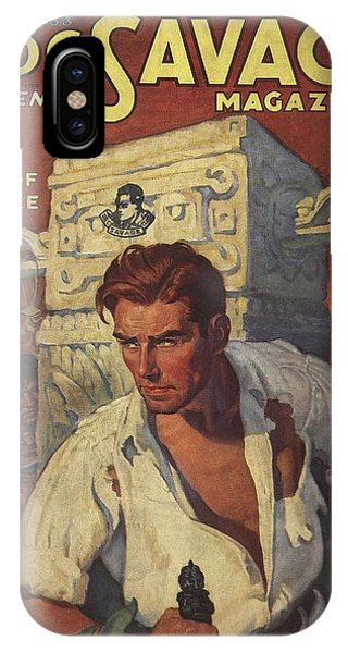 Doc Savage The Man Of Bronze IPhone Case