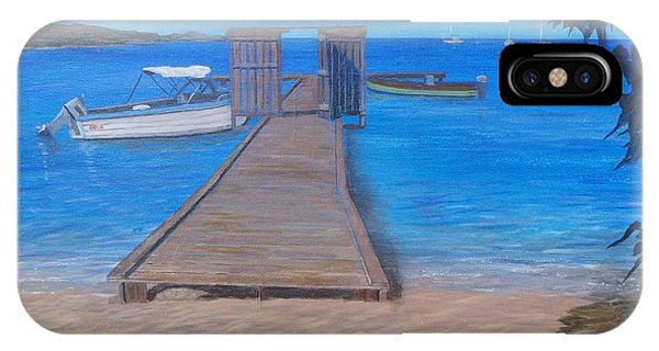 Dock On The Beach IPhone Case