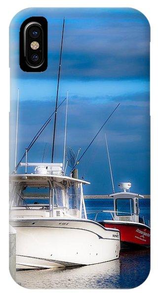 Docked And Quiet IPhone Case