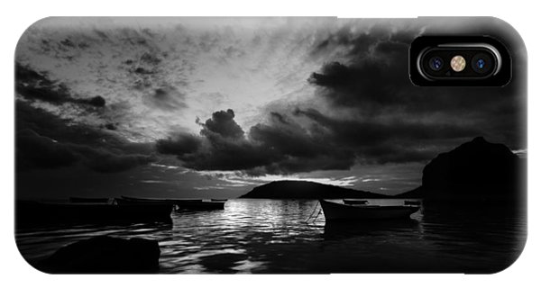 IPhone Case featuring the photograph Docked At Dusk by Julian Cook