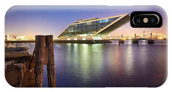 Dockland At Night IPhone Case
