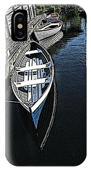Dockside Quietude IPhone Case