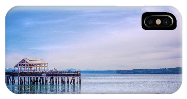 Port Townsend iPhone Case - Dockside by Spencer McDonald