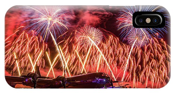 Doc's Fireworks IPhone Case