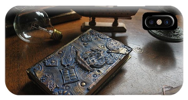 Doctor Who Steampunk Journal  IPhone Case