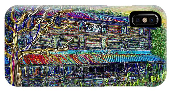 Dodds Creek Mill, ,floyd Virginia IPhone Case