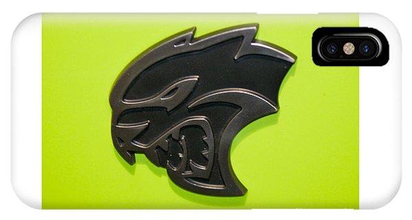 Dodge Challenger Srt Hellcat Emblem IPhone Case