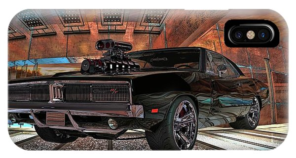 Dodge Charger R/t 1969 Hemi IPhone Case