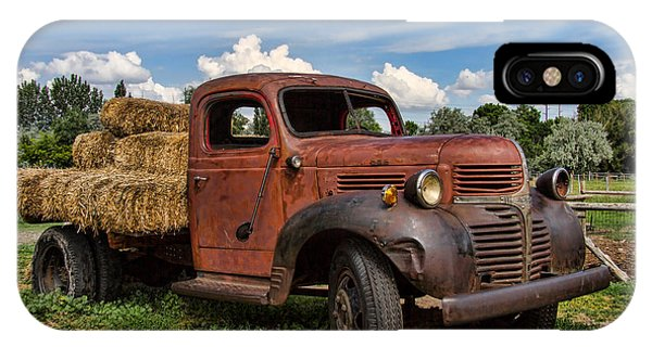 Wheeler Farm iPhone Case - Dodge Farm Truck by Nick Gray