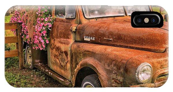 Dodge Flower Pot IPhone Case