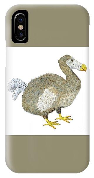 Dodo Bird Protrait IPhone Case