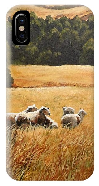 Does My Bum Look Big In This Paddock? IPhone Case