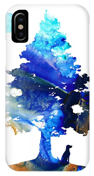 Bull iPhone Case - Dog Art - Contemplation - By Sharon Cummings by Sharon Cummings