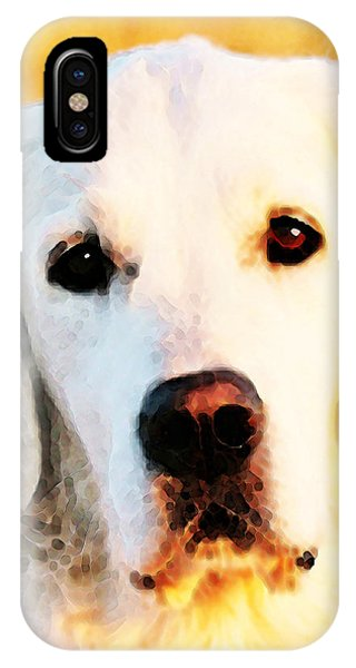 Dog Art - Golden Moments IPhone Case