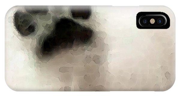 Dog Art - I Paw You IPhone Case