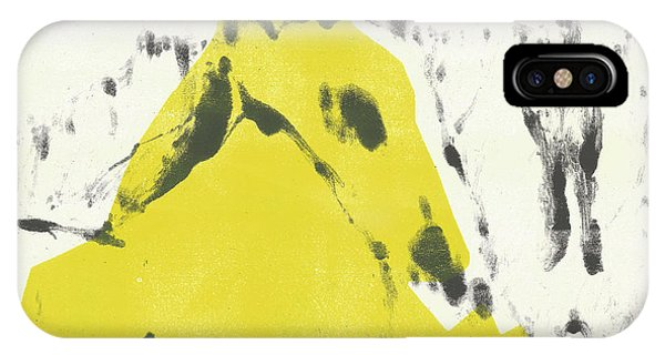 Dog At The Beach - Black Ivory 2 IPhone Case