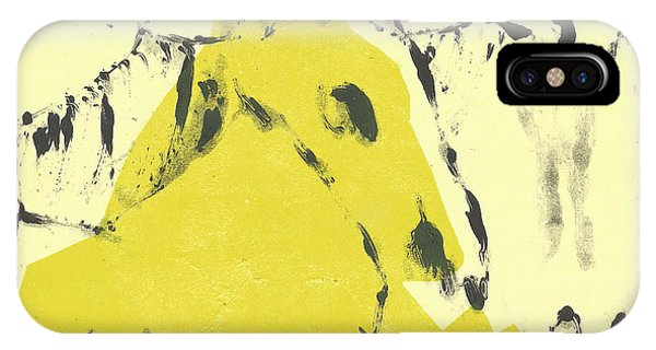 Dog At The Beach - Black Ivory 4 IPhone Case