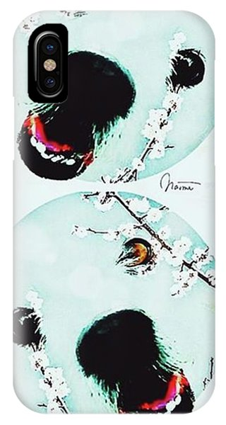 iPhone Case - Dog Blossoms  by Naomi Ibuki