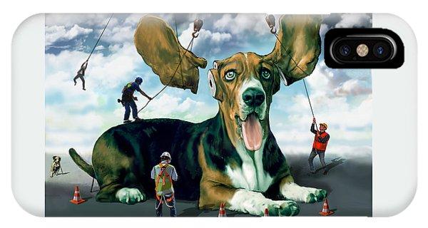 Dog Construction IPhone Case