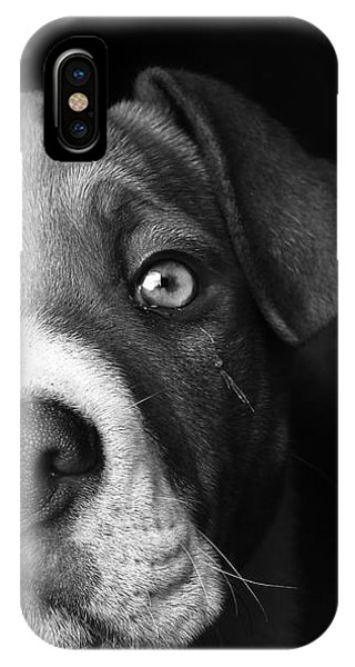 Dog - Monochrome 2 IPhone Case