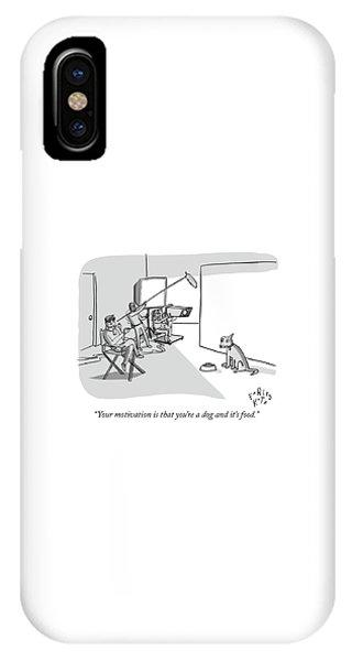 Dog Motivation IPhone Case