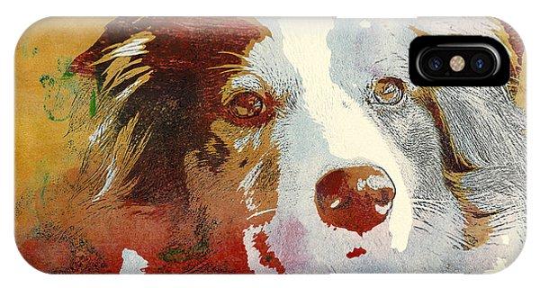 Dog Portrait IPhone Case