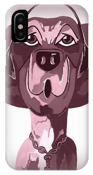 Doggie Singing The Blues IPhone Case