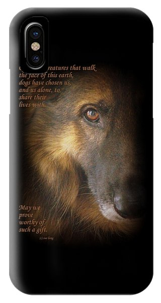 Dogs Chose Us IPhone Case
