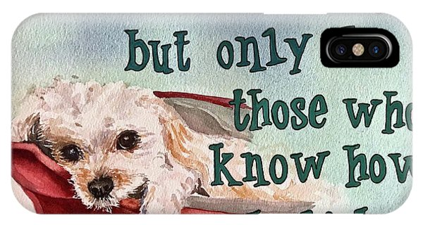 Dogs Do Speak IPhone Case