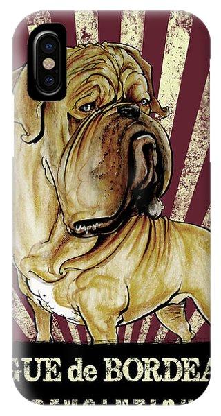 Dogue De Bordeaux Revolution IPhone Case