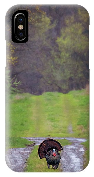 Doing The Turkey Strut IPhone Case