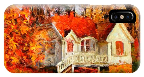 Doll House And Foliage IPhone Case