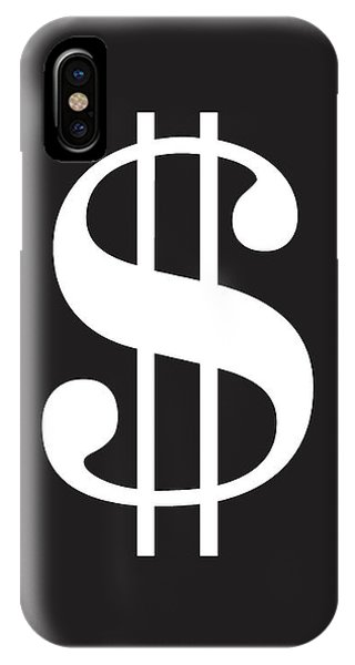 Dollar Sign - Poster IPhone Case
