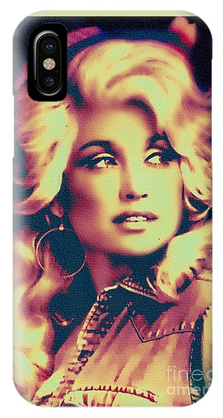 Dolly Parton - Vintage Painting IPhone Case