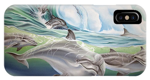 Dolphin 2 IPhone Case