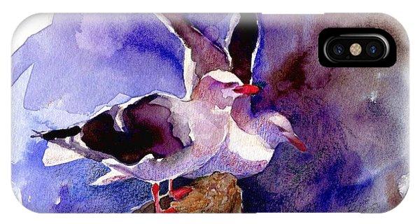 Dolphin Gulls IPhone Case
