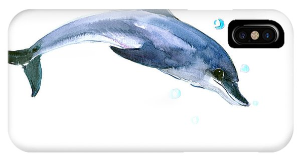 Dolphin iPhone Case - Dolphin by Suren Nersisyan