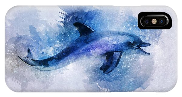 Dolphins Freedom IPhone Case
