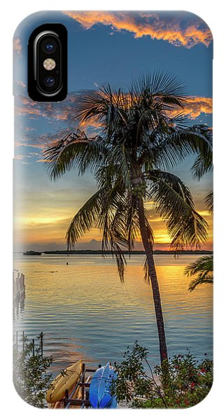 IPhone Case featuring the photograph Dolphins In San Carlos Bay by Steven Sparks