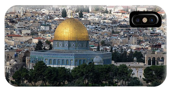 iPhone Case - Dome Of The Rock by Steven Richman