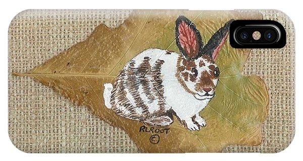 domestic Rabbit IPhone Case