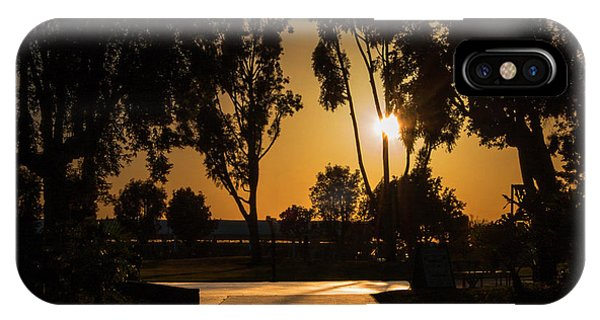 Dominguez Hills Sunset IPhone Case