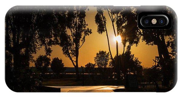 Dominguez Hills Sunset IPhone Case