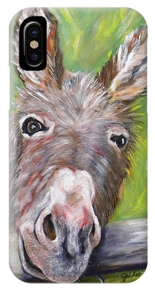 Dominic The Donkey IPhone Case