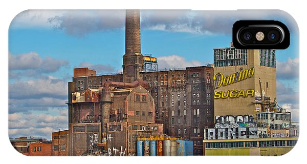 Domino Sugar Water View IPhone Case